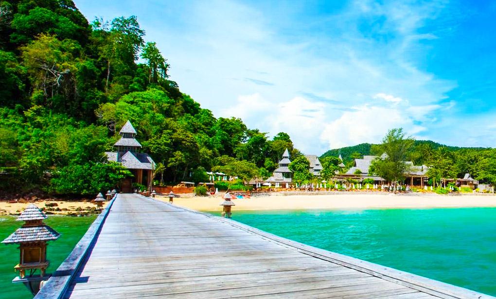 Koh Yao Yai puente playa